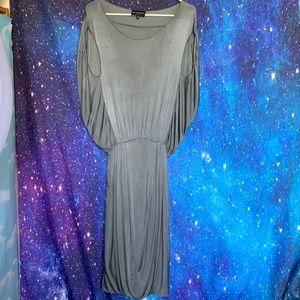 Emporio Armani- Gray Maxi Dress size 40